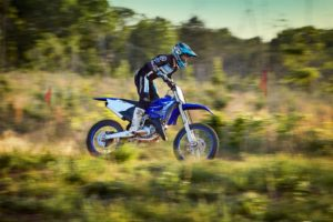 The YZ125X is aimed at developing riders.