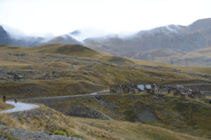 An abandoned military post in the Alps. Whose was it? Who cares?