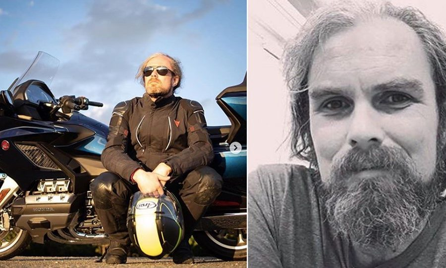 Motojournalist Davey Johnson has gone missing.