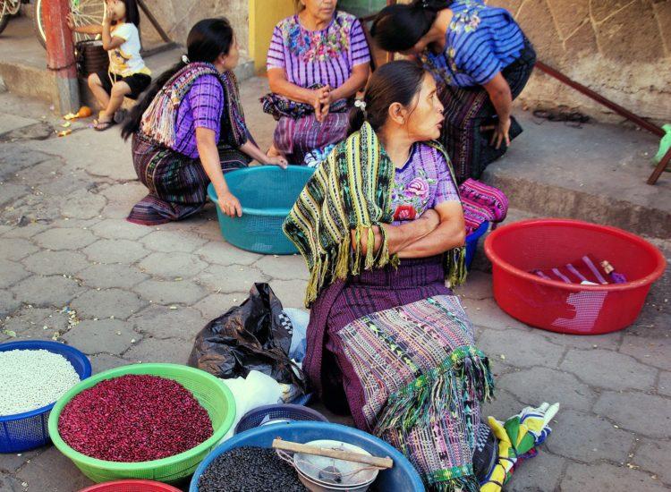 Guatemala market. ADV Rider