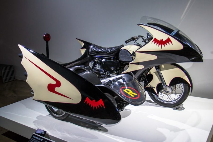 Movie Magic: Science Fiction's Motorcycles go on display in LA