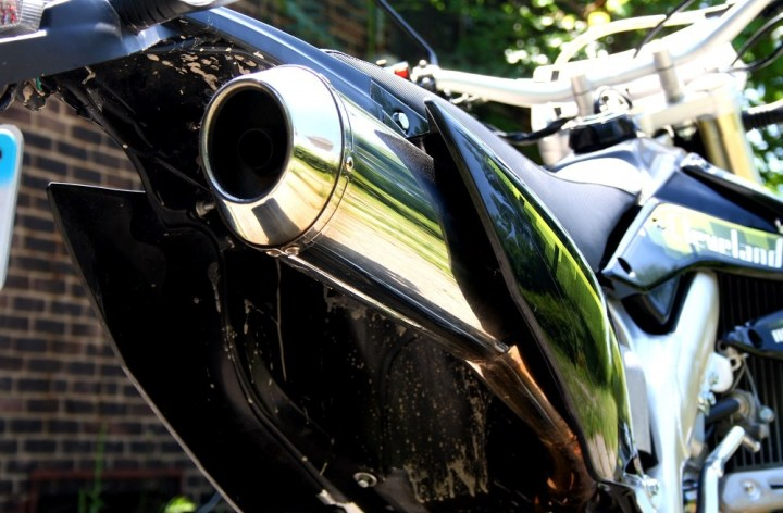 Do loud pipes save lives, or needlessly anger non-riders? Photo: Zac Kurylyk