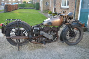 Rare AJS Model 37/2 Found In English Barn:  Sort Of