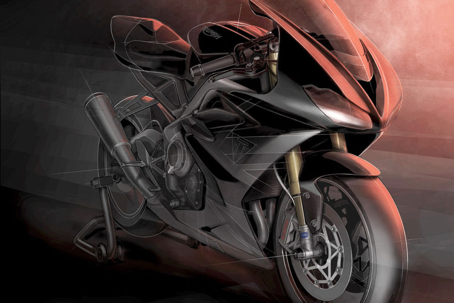 Triumph Teases Daytona Moto2 765 Limited Edition