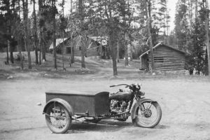 Yellowstone National Park's Motorcycle History