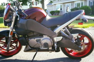 This '08 Buell Lightning XB12S would be one of the last models produced. Photo: Autotrader