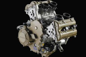 Ducati is expected to put its V4 engine into a Multistrada chassis. Photo: Ducati