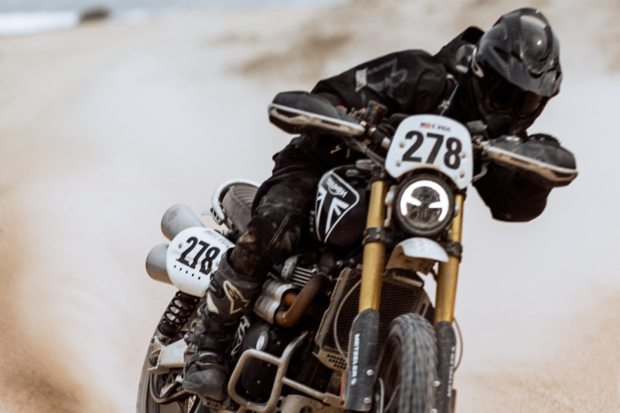 Triumph's Scrambler 1200 Demos At Touratech DirtDAZE