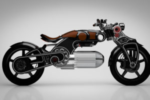 "Curtiss Unveils ""Hades"" Electric Motorcycle"