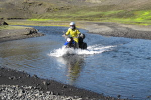 Water crossing Iceland
