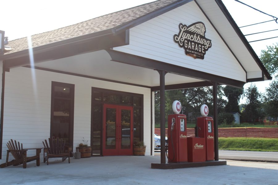 The Lynchburg Garage will host motorcycle rentals starting in September. Photo: Sloane's Motorcycle and ATV/Facebook
