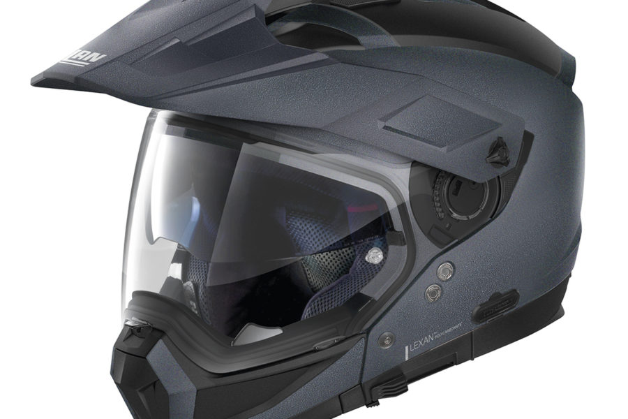 A Nolan N70-2-X Adventure helmet.  Photo credit: Nolan
