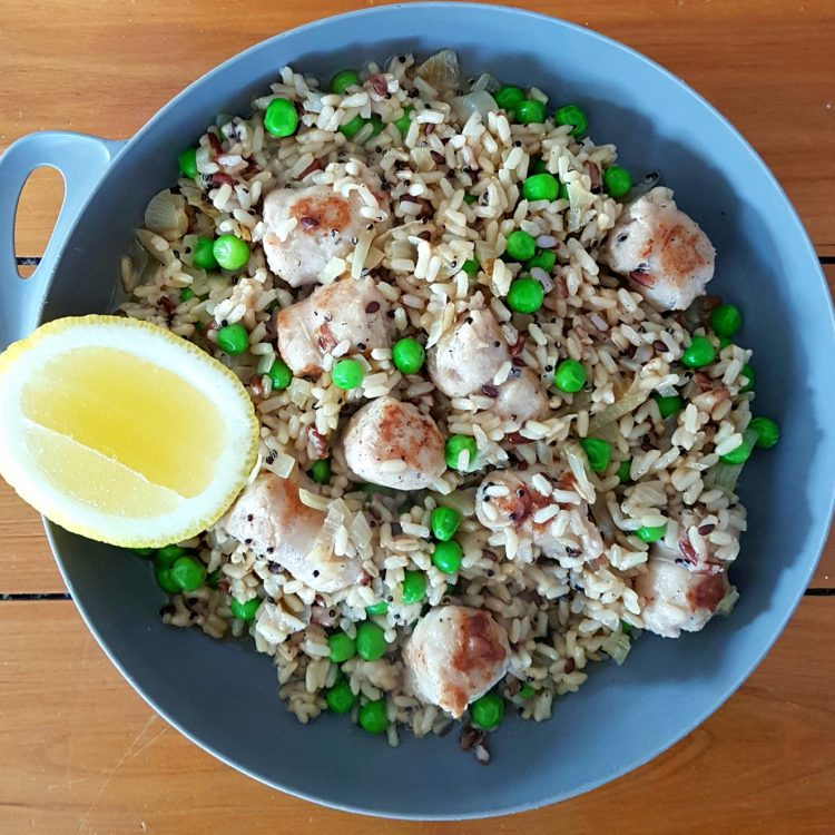 Chicken Sausage Pilaf