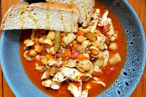 Chicken & Vegetable Tomato Stew
