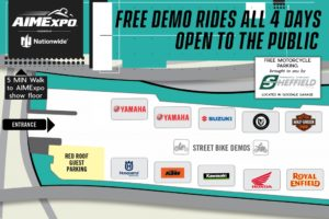 Manufacturer Demo Bikes Available At AIMExpo