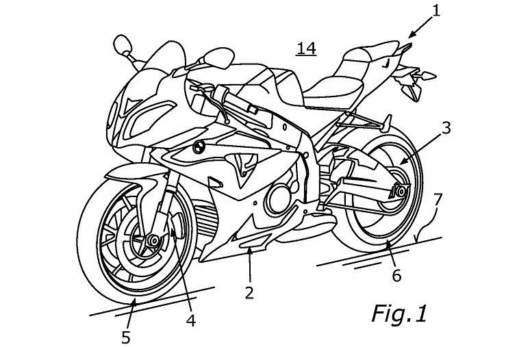 The supercharger isn't evident in this drawing, but it appears to be intended for the S1000 RR. Photo: BikeSocial