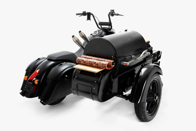 Indian Traeger grill