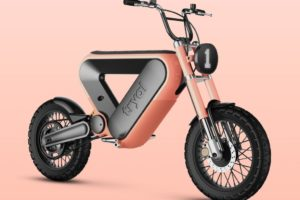 Design Challenge Winner; Tryal Electric Motorcycle