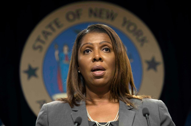 NY Attorney General Letitia James