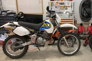 The bike looks clean, and so does the shop. That's a good sign. Photo: Craigslist