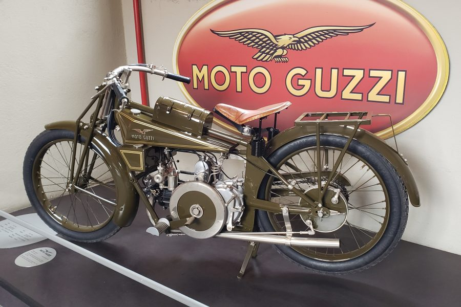 Visiting the Moto Guzzi Open House 2019