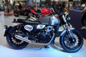 The New RE3 Cyclone 400 Showed at Chongqing Motor Expo.