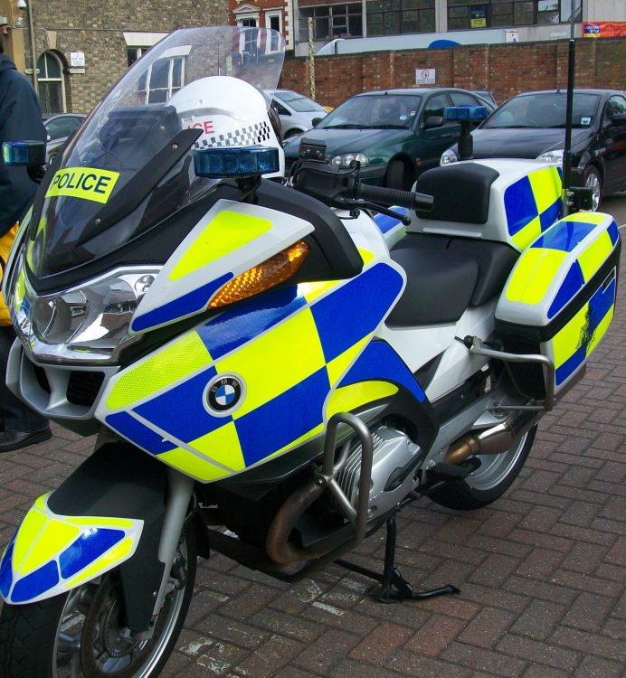 UK Police Motorcycle