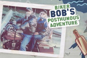 Biker Bob's final adventure is the subject of a short film. Photo: CBC