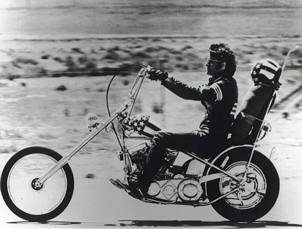 Peter Fonda Easy Rider Motorcycle Safety