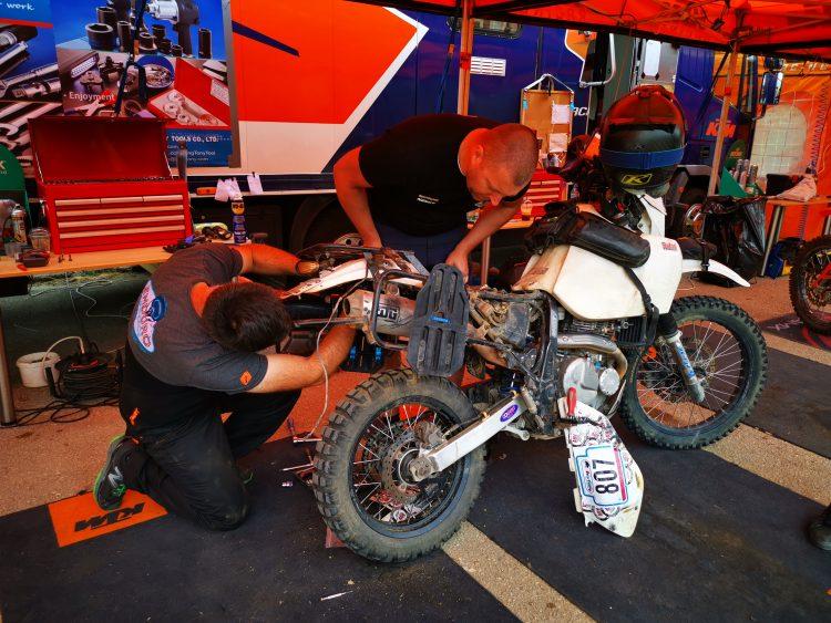 Adventure & Rally Tires: Mitas E-09 vs Pirelli RallyCross ADV Rider