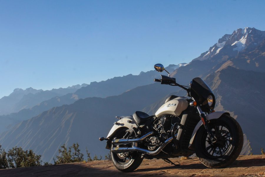 Seeking Adventure on an Indian Scout Sixty in South America