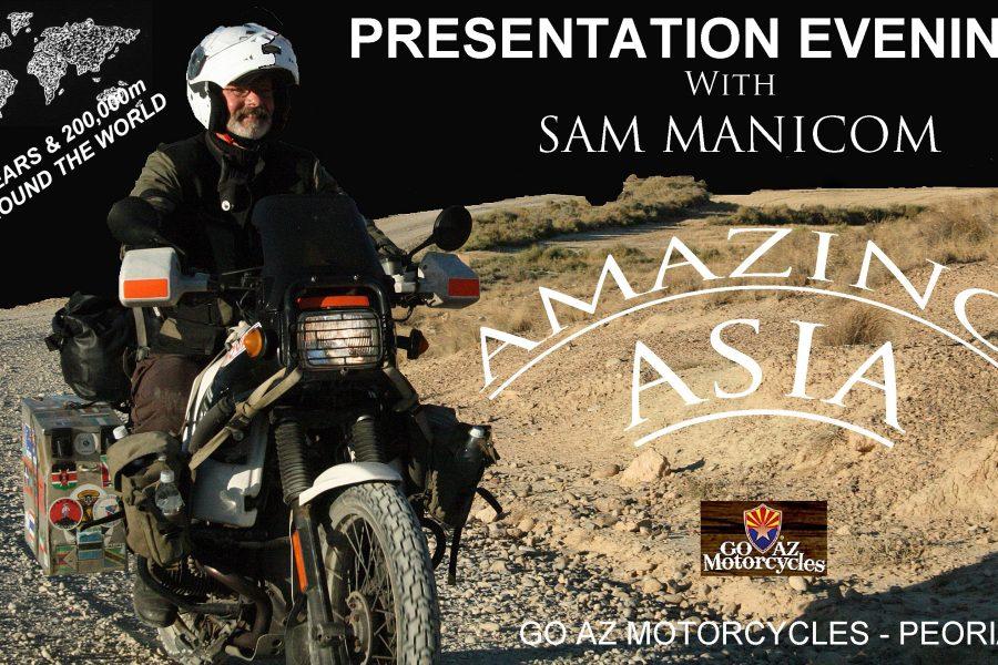 Get Inspired – Sam Manicom Presentation, Friday Sept. 6th Phoenix