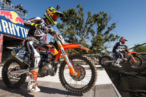 Two-strokes return for the 2019 Straight Rhythm event. Photo: Red Bull