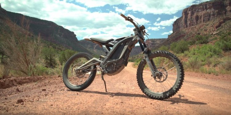 Sur-Ron electric motorcycle