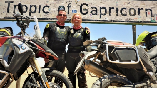 Hana Ptackova David Mather MotoAdventours