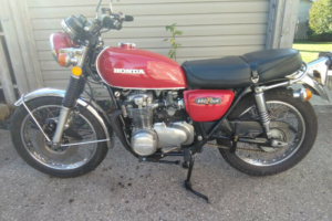 A fine-looking example of vintage SOHC Honda. Photo: Kijiji