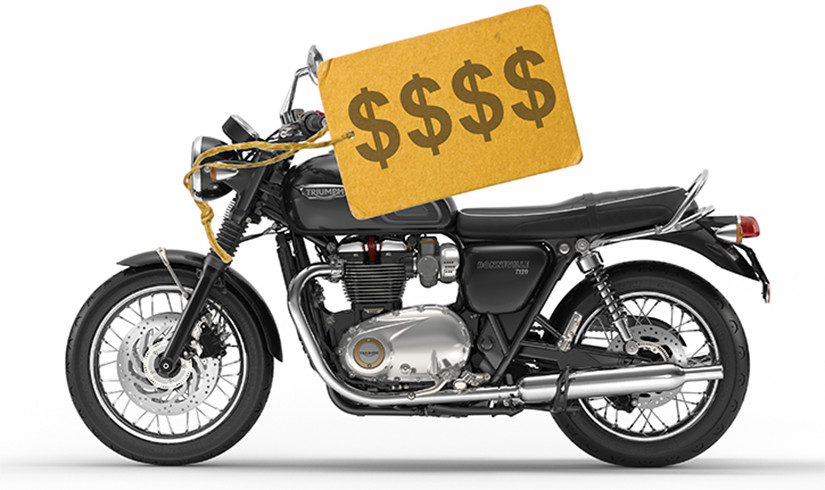 Buying motorcycle online