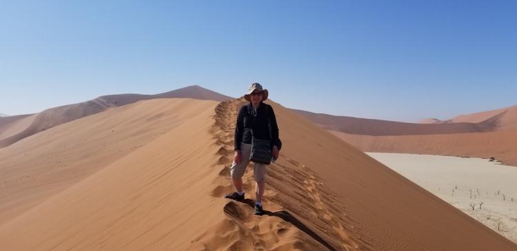 Namibia largest sand dunes