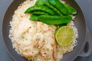 Lime Coconut Chicken  Photo @Kylie Day