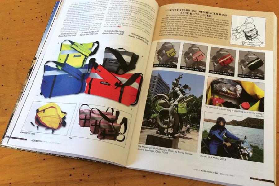 The Aerostich catalog is full of useful information. Photo: Aerostich