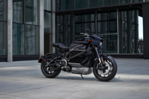 The 2020 Harley-Davidson LiveWire.  Photo credit: Harley-Davidson