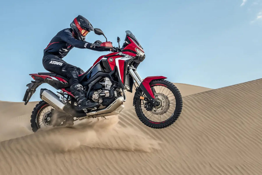 The Africa Twin has already been unveiled, but it will be on display during the shows. Photo: Honda