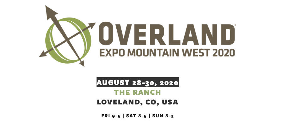Breaking: New Overland Expo For Colorado 2020