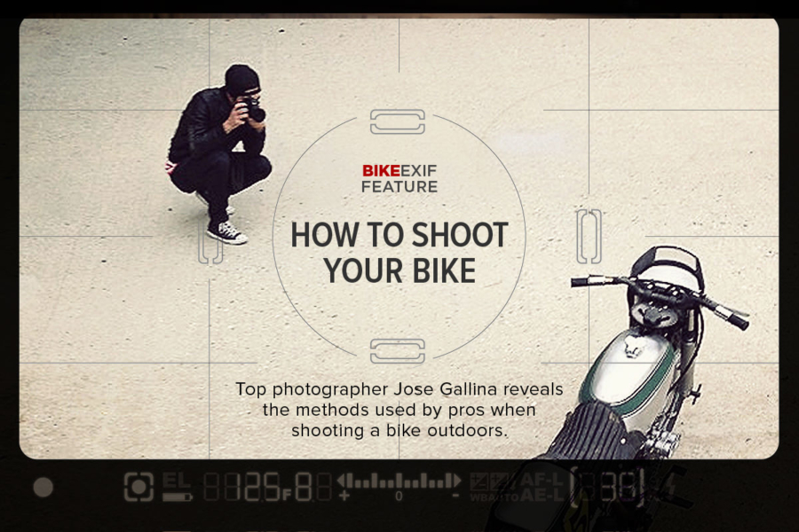 How to Photograph a Motorcycle