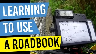 How to use a Motorcycle Rally Roadbook