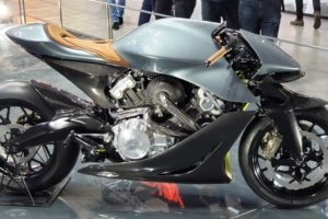 Aston Martin motorcycle for 108K Euros (EICMA 2019)