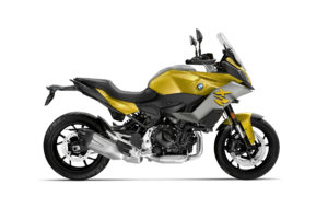 Hard to miss this bike in its yellow paint. Photo: BMW