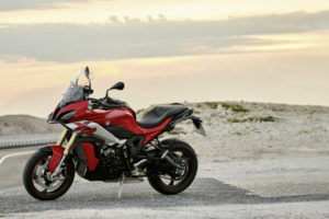 A nice bike for touring the wastelands, as long as there's a paved road. Photo: BMW