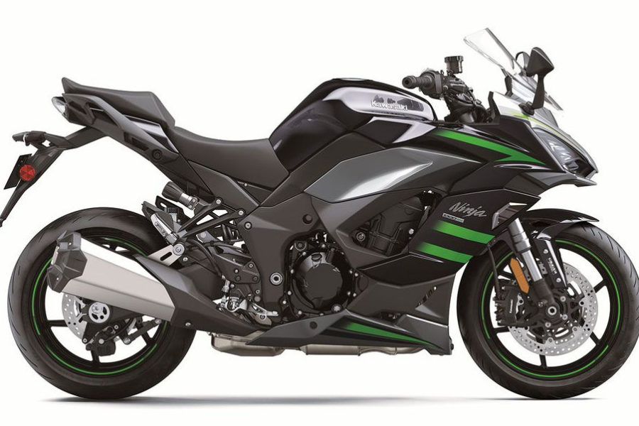 Now, with more electronics, a comfy seat, and new bodywork! Photo: Kawasaki