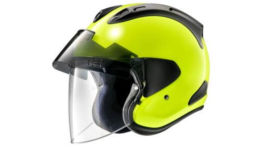 Not a classically-styled open face helmet. Photo: Arai